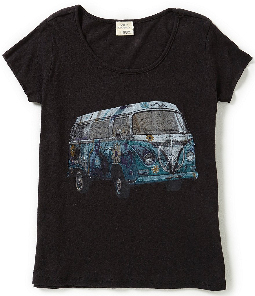 O´Neill Big Girls 7-16 Road Trip Tee