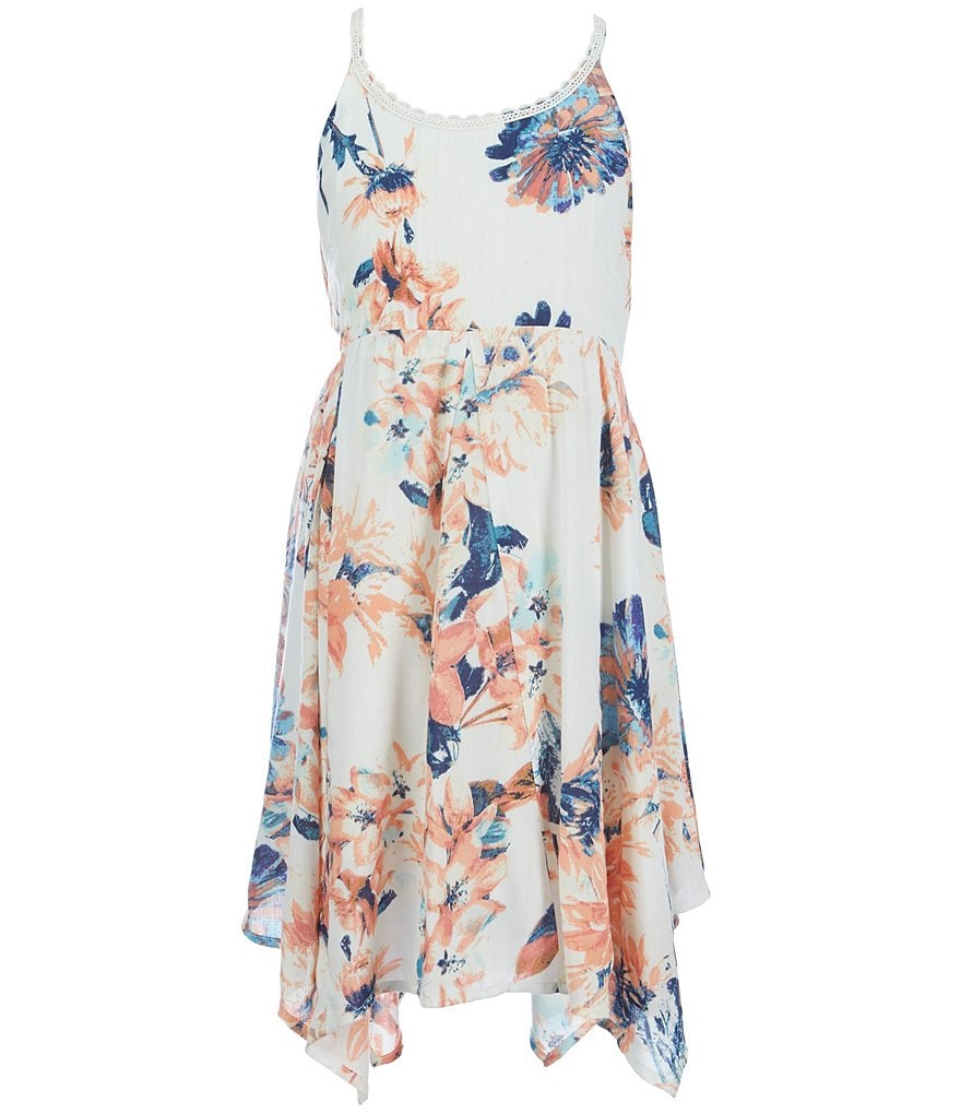 O´Neill Big Girls 7-16 Loretta Floral-Printed Dress