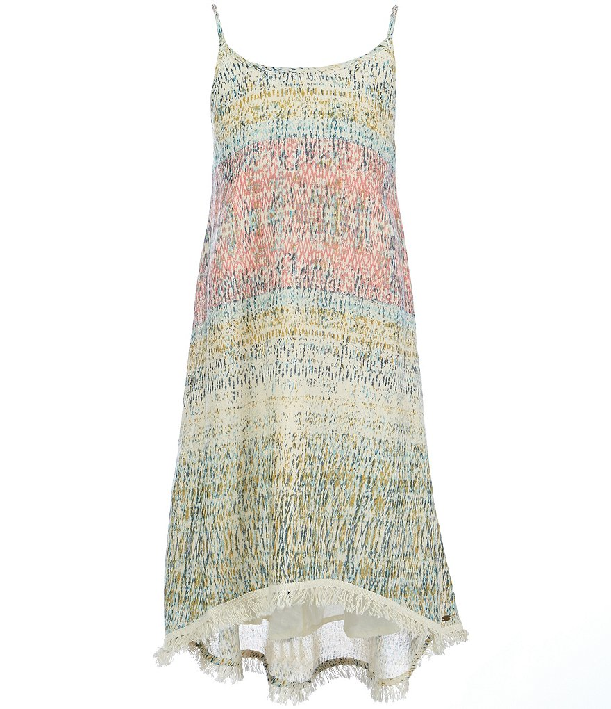 O´Neill Big Girls 7-16 Mixed-Media Lattice-Back A-line Dress