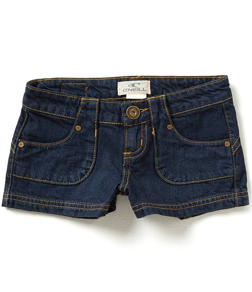 O´Neill Big Girls 7-14 Rhonda Denim Shorts