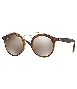 Ray-Ban Gatsby Mirrored Round Sunglasses