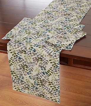 Noble Excellence Nature Leaf Cotton & Linen Table Linens