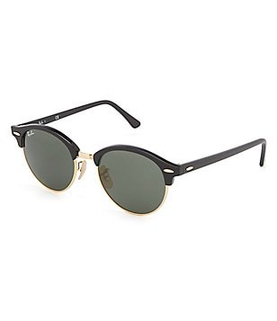 Ray-Ban Clubround Gradient Flash Mirror Sunglasses