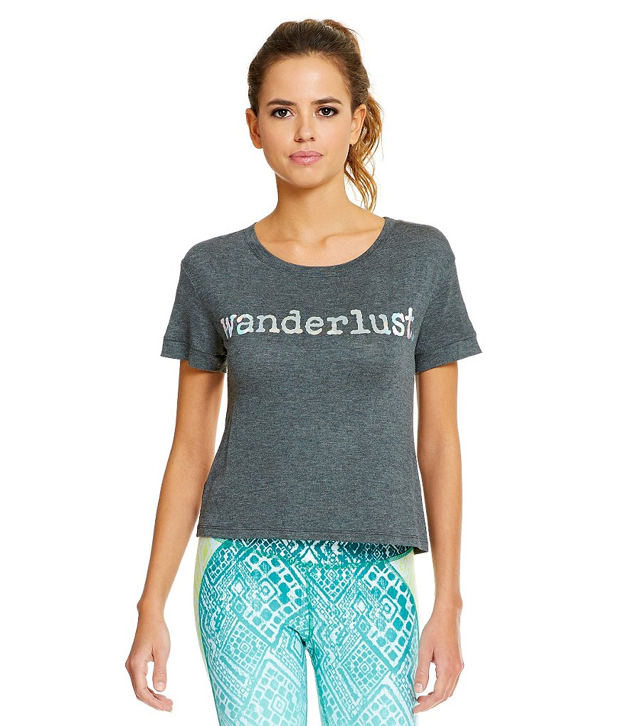 Gianni Bini Active Wander Cropped Knit