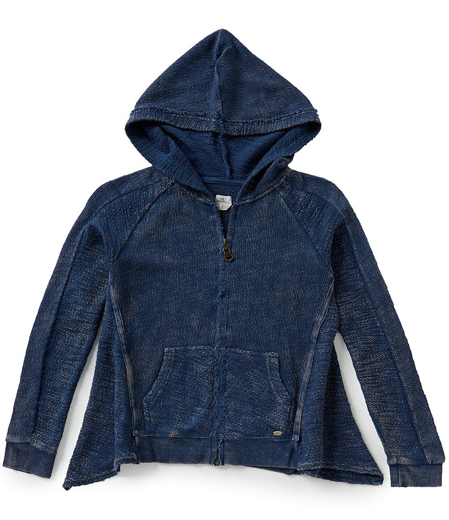 O´Neill Big Girls 7-16 Misty Slub French Terry Hoodie
