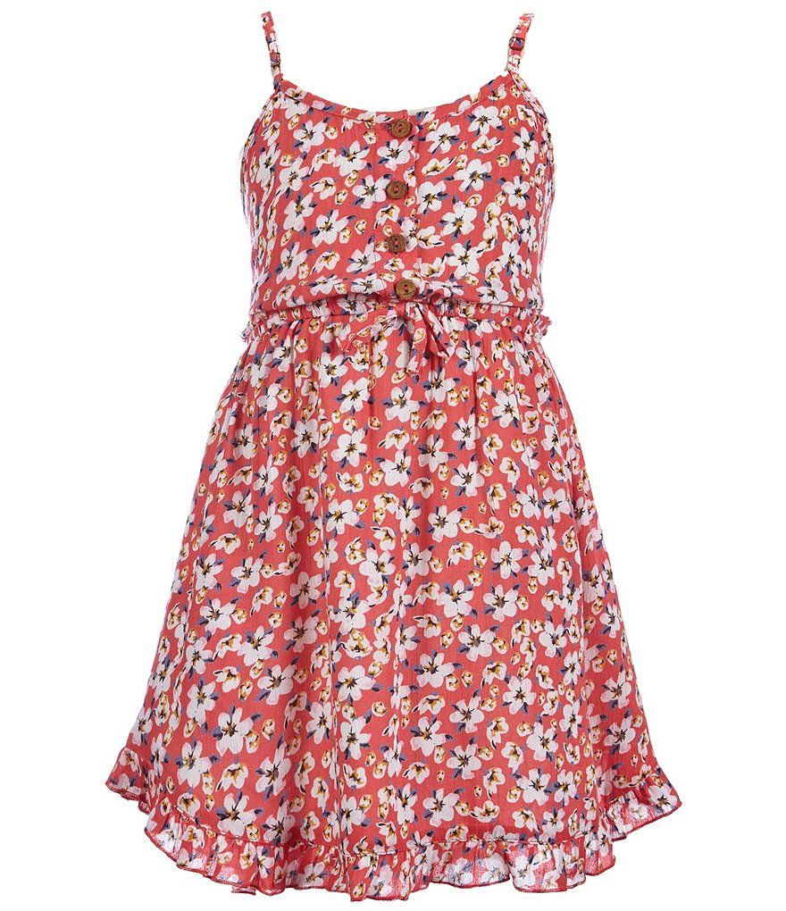 O´Neill Big Girls 7-16 Abbie Floral-Printed Dress