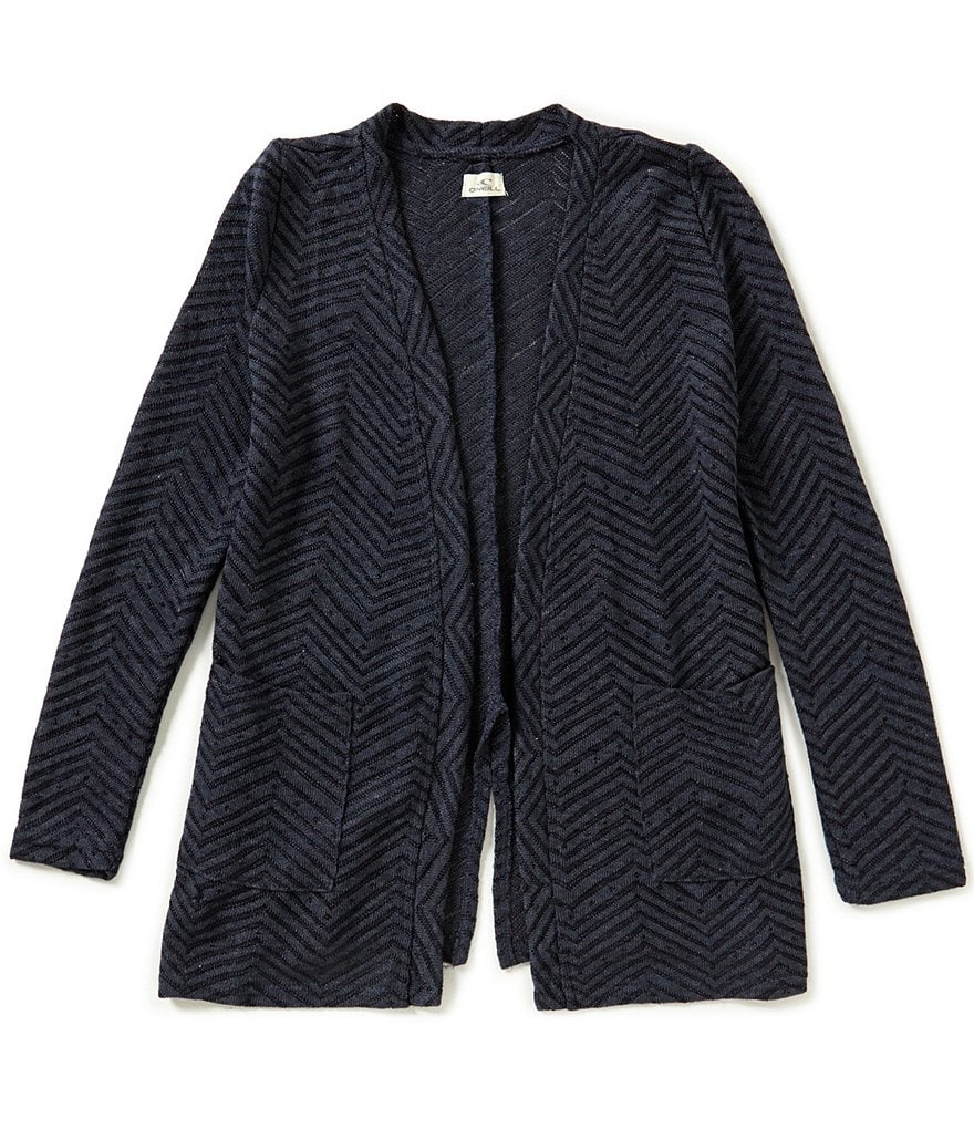 O´Neill Big Girls 7-16 Montauk Open-Knit Cardigan