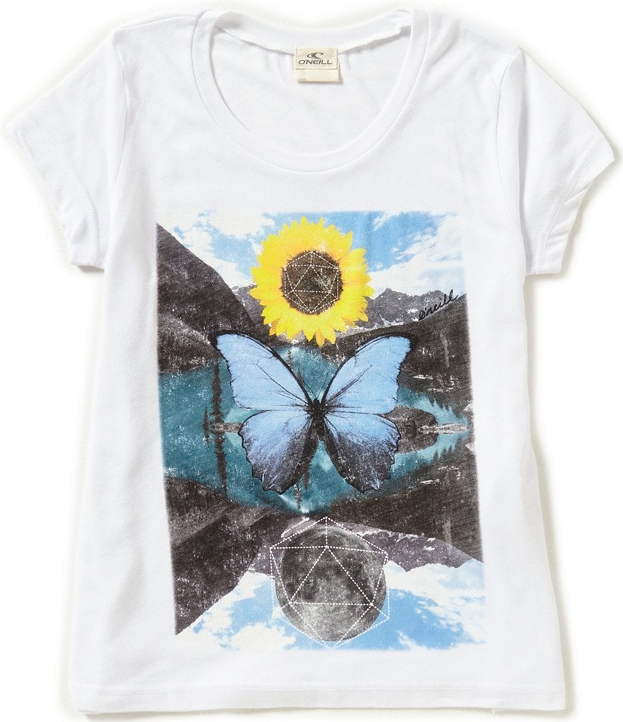 O´Neill Big Girls 7-16 Parallel Universe Tee