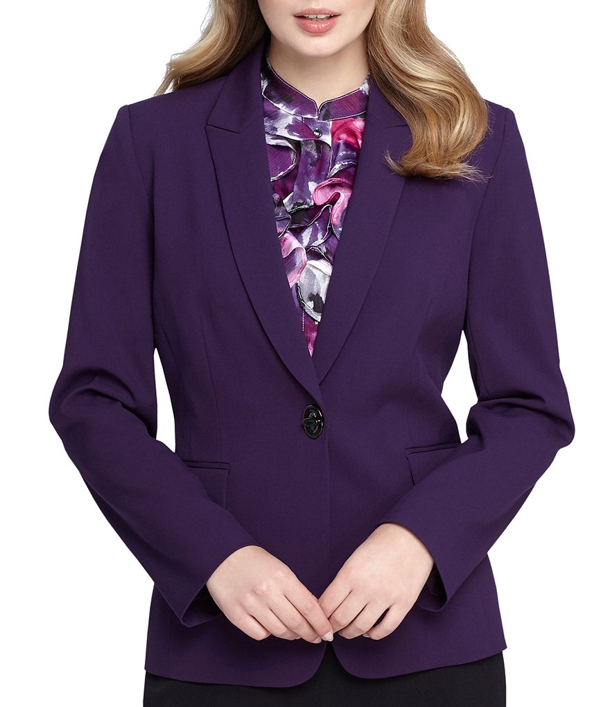 Tahari ASL Turnlock Blazer Jacket