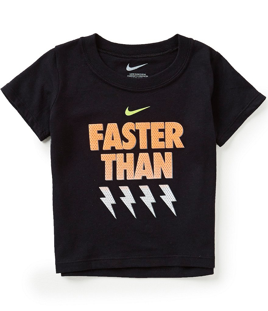 Nike Baby Boys 12-24 Months Faster Than Short-Sleeve Tee