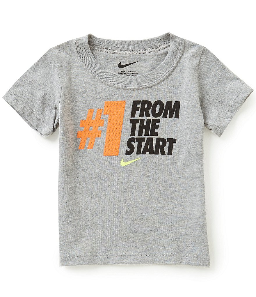 Nike Baby Boys 12-24 Months #1 From The Start Short-Sleeve Tee