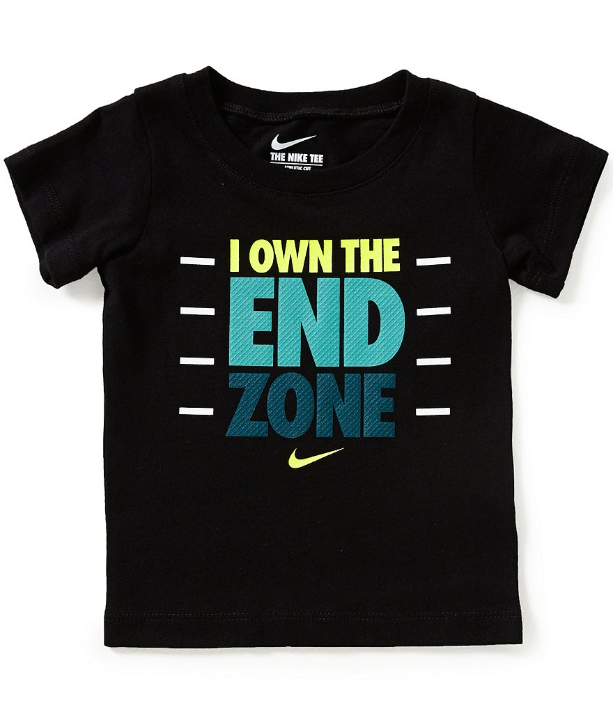 Nike Baby Boys 12-24 Months I Own The End Zone Short-Sleeve Graphic Tee