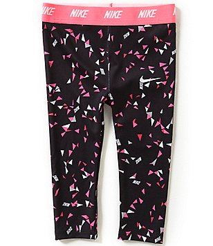 Nike Baby Girls 12-24 Months Dri-FIT Sport Essentials Printed Leggings