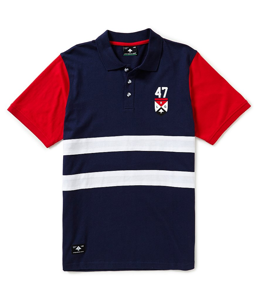 LRG Short Sleeve Giraffe Rider Team Polo