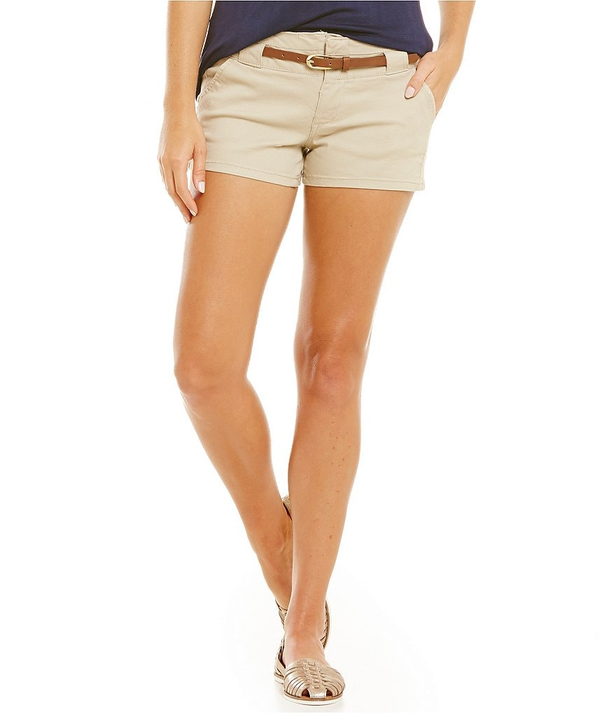 Copper Key Belted Shorts