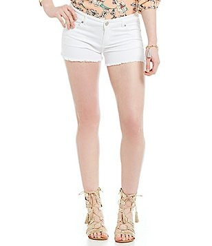 Copper Key Cut-Off Denim Shorts
