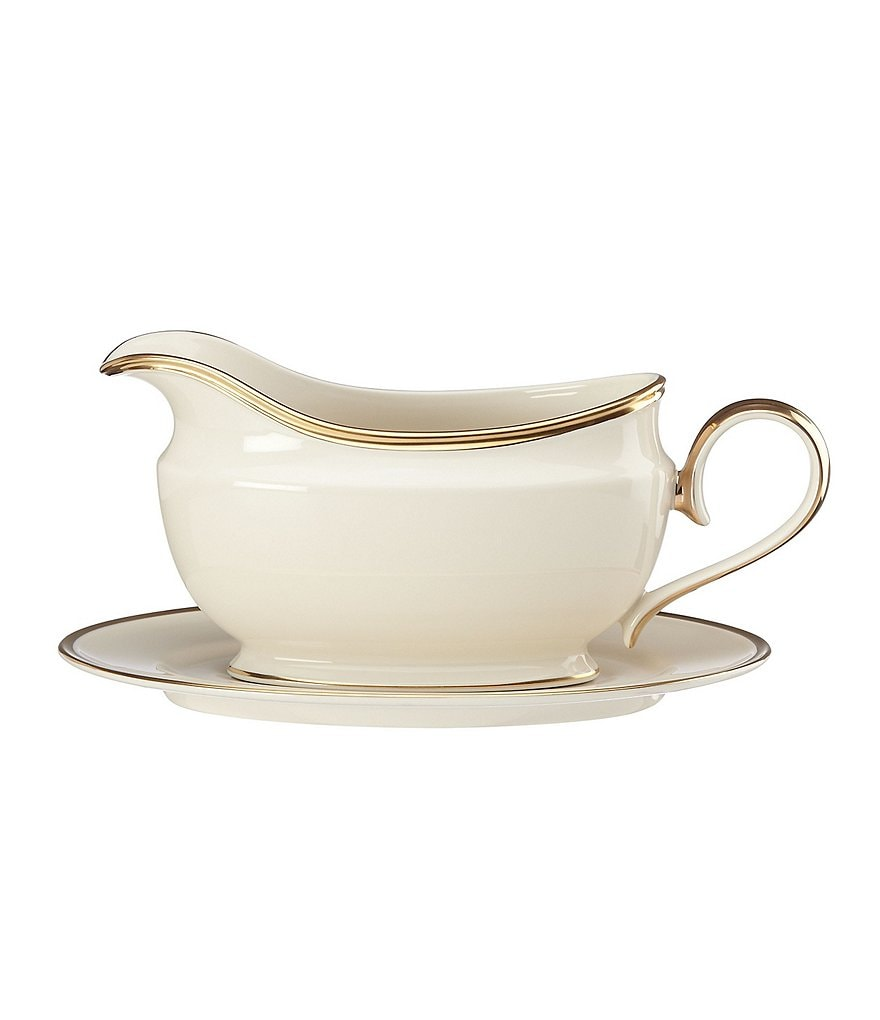 Lenox Eternal Gravy Boat with Stand