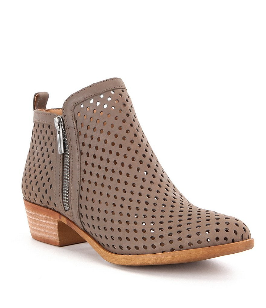 Lucky Brand Basel 3 Side Zip Booties
