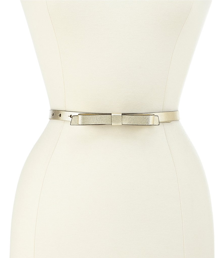 kate spade new york Classic Bow Belt