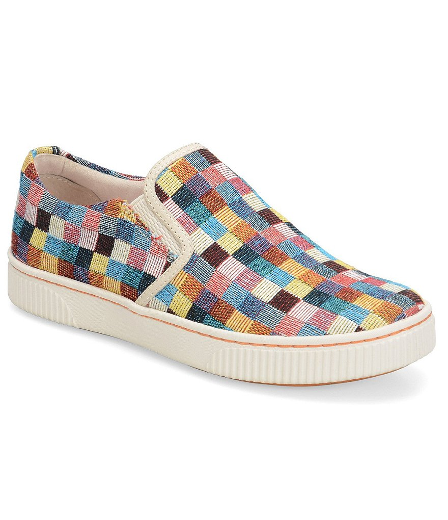 Born Richie Checked Platform Sneakers