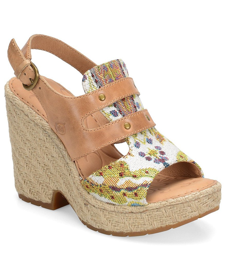 Born Brewster Wedge Sandals