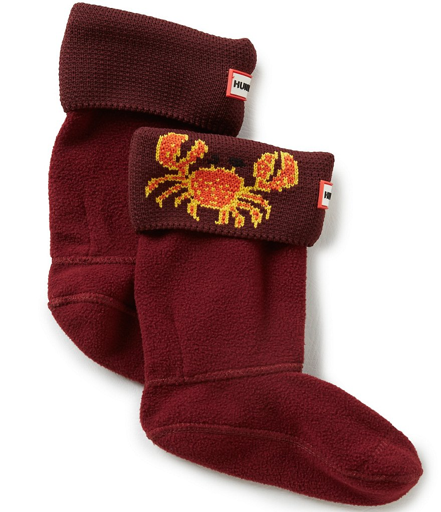 Hunter Kids´ Original Crab Cuff Boot Socks