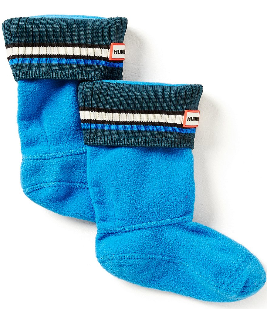 Hunter Kids´ Original Bouy Stripe Cuff Socks