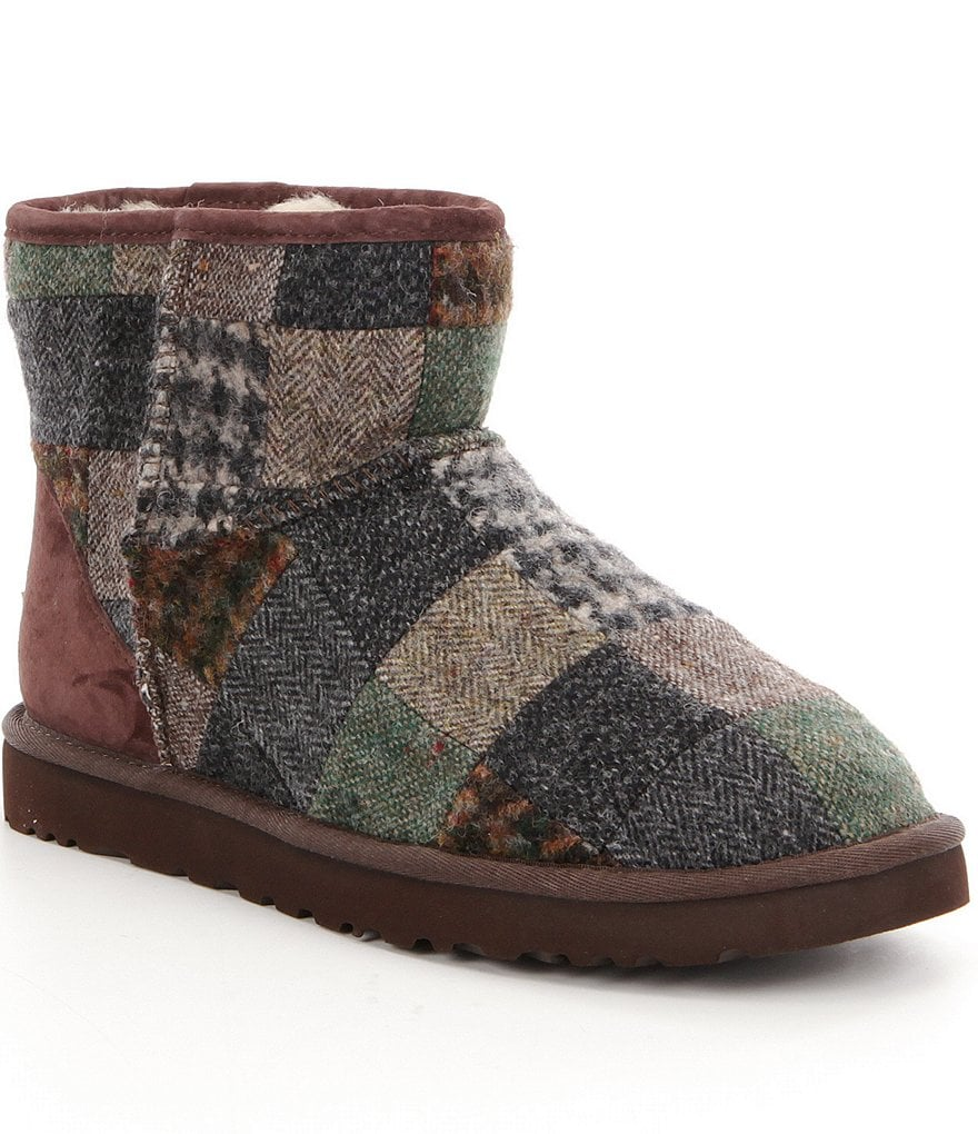 UGG® Classic Mini Patchwork Men´s Boots