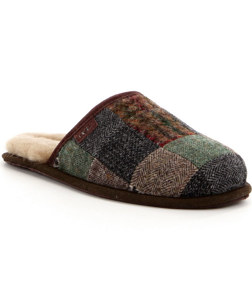 UGG® Scuff Men's Patchwork Slippers