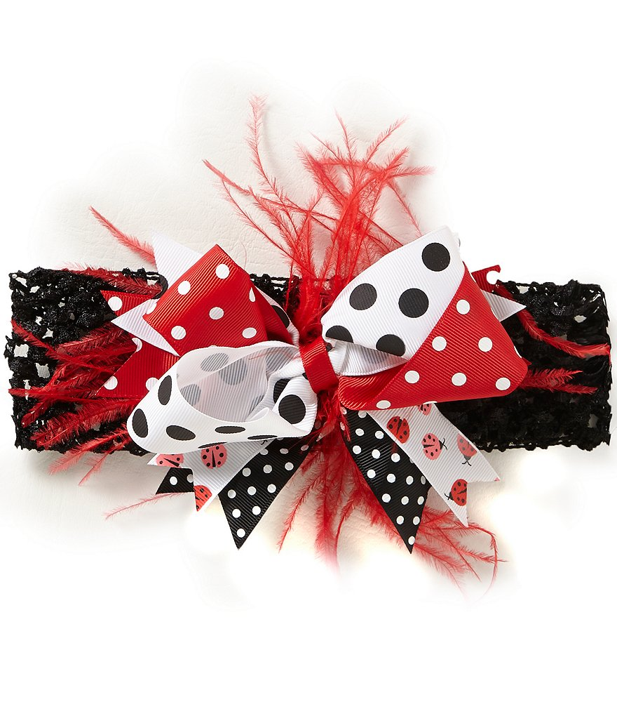 Starting Out Baby Girls Ladybug Headband