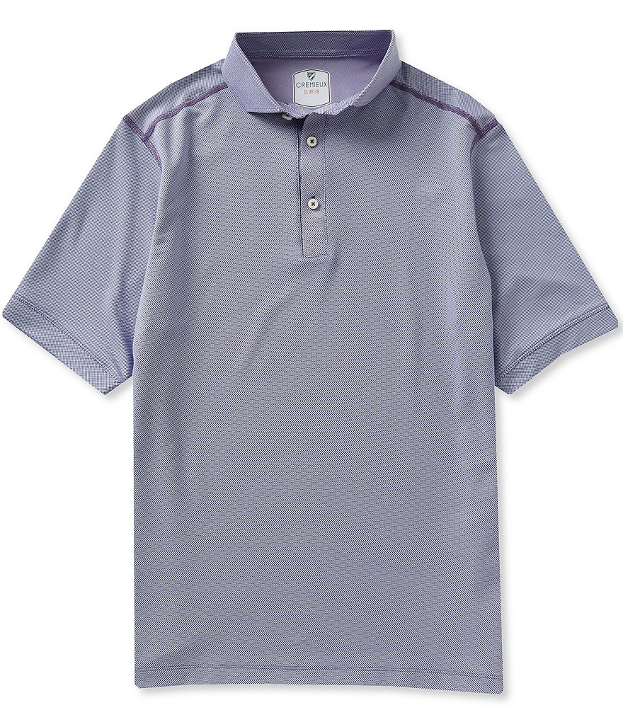 Cremieux Short-Sleeve Performance Solid Polo Shirt