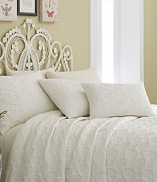 Studio D Melody Paisley-Quilted Jacquard Coverlet Mini Set