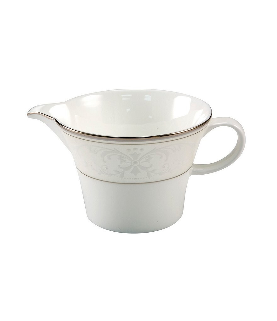 Nikko Pearl Symphony Scroll Bone China Creamer