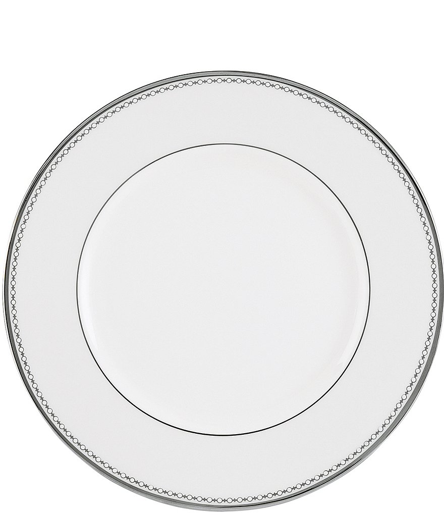 Lenox Pearl Platinum Bone China Dinner Plate