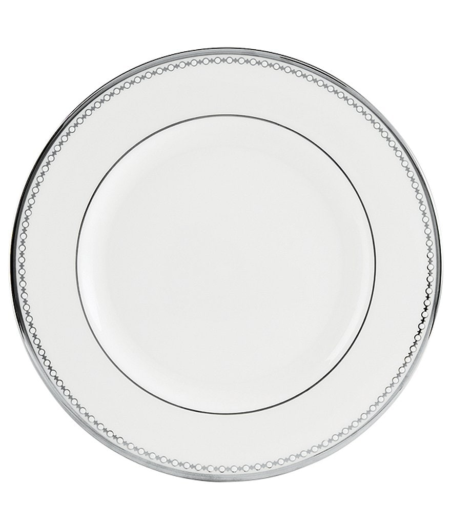 Lenox Pearl Platinum Bone China Salad Plate