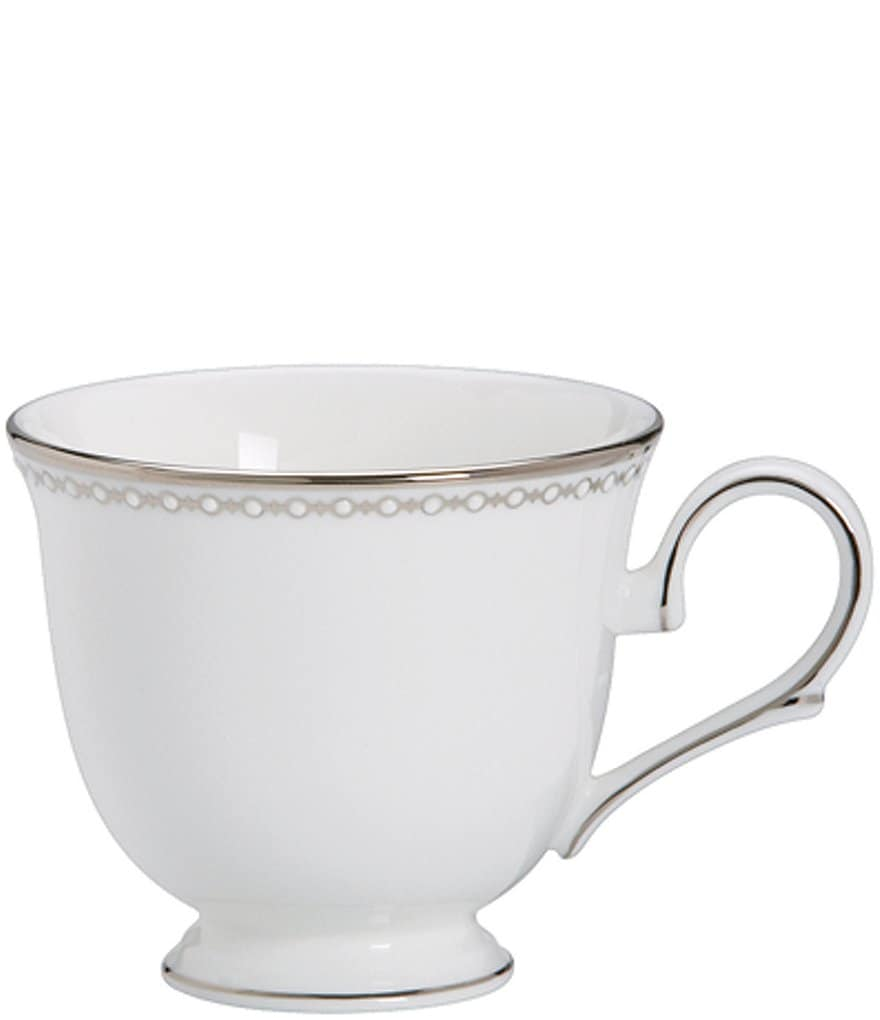 Lenox Classics Collection Pearl Platinum Bone China Cup