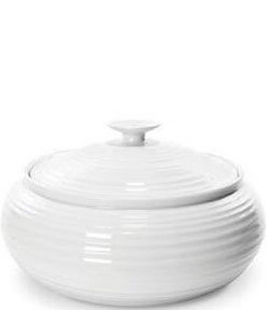 Sophie Conran for Portmeirion Low Round Porcelain Covered Casserole