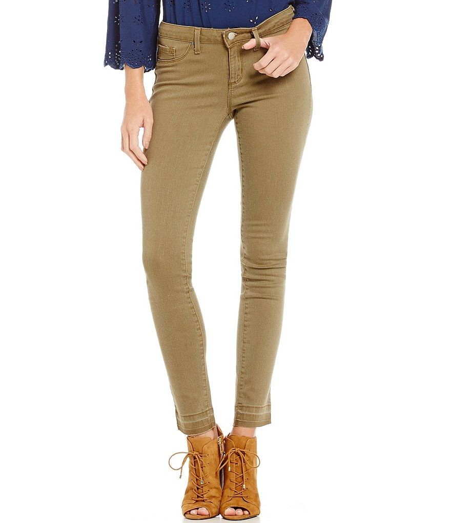 Jessica Simpson Kiss Me Super Skinny Released Hem Jeans