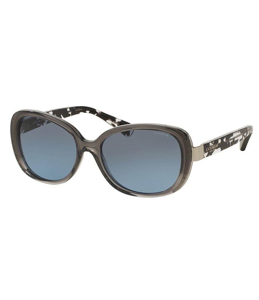 COACH SIGNATURE GLOW GRADIENT SUNGLASSES