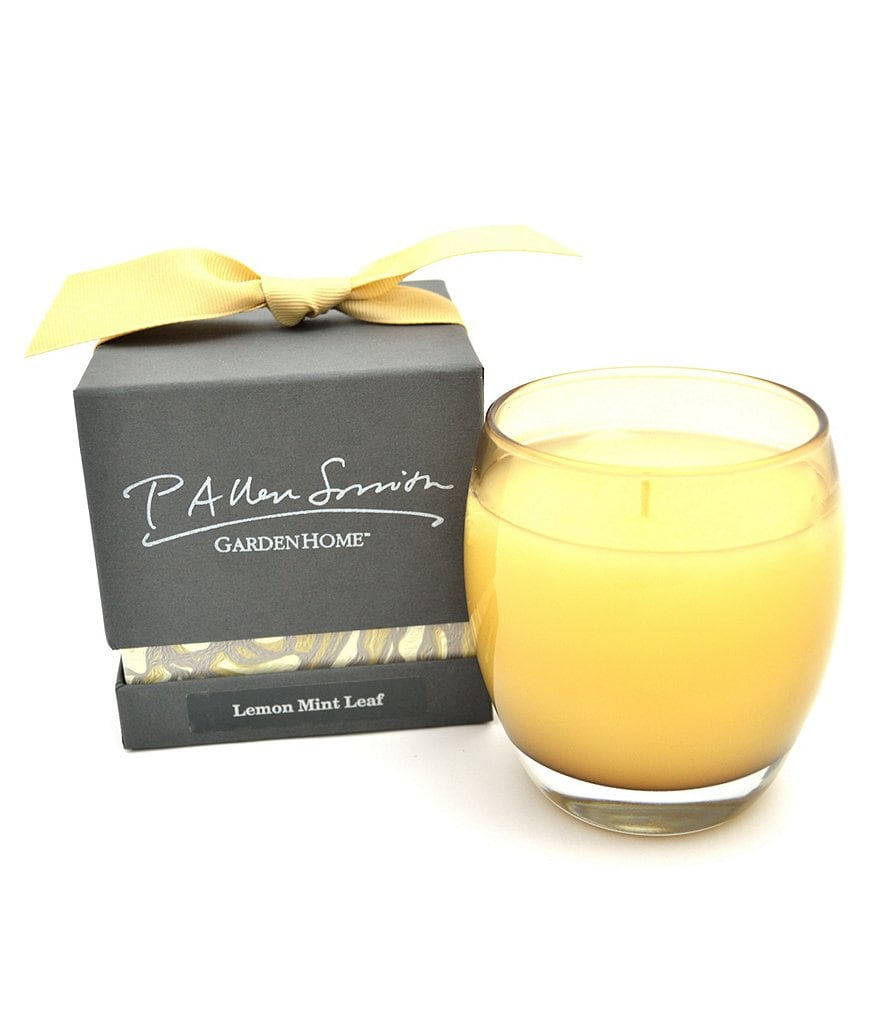 P. Allen Smith Lemon Mint Leaf Candle