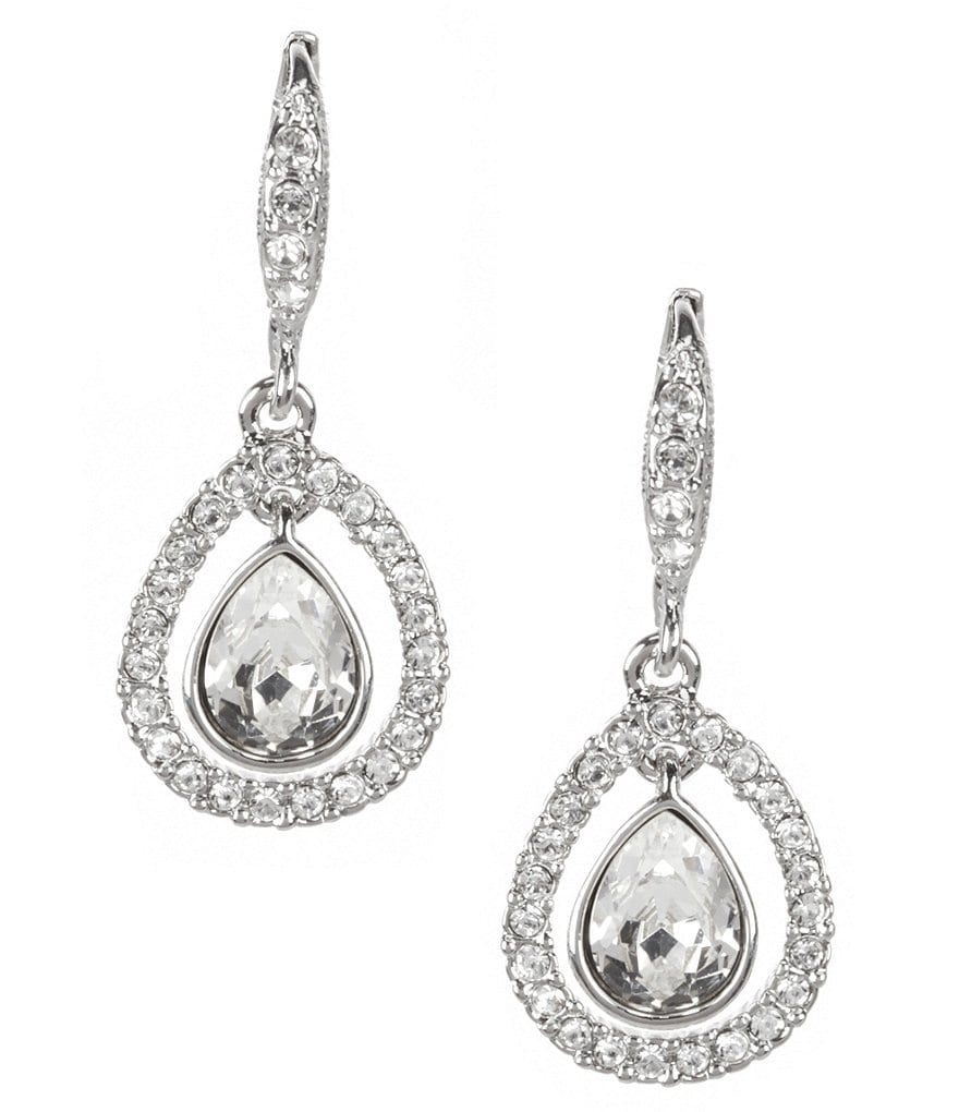 Givenchy Orbital Teardrop Earrings