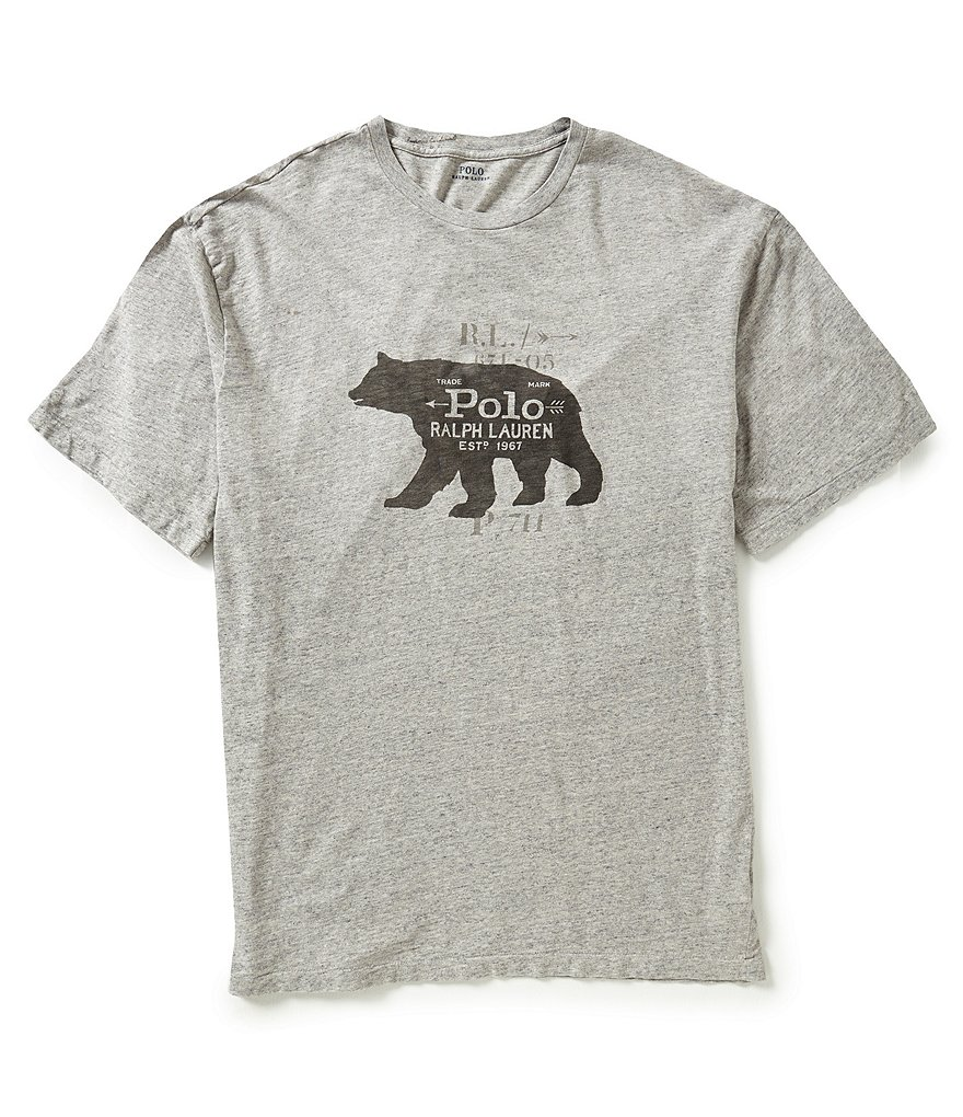Polo Ralph Lauren Big & Tall Crewneck Graphic T-Shirt