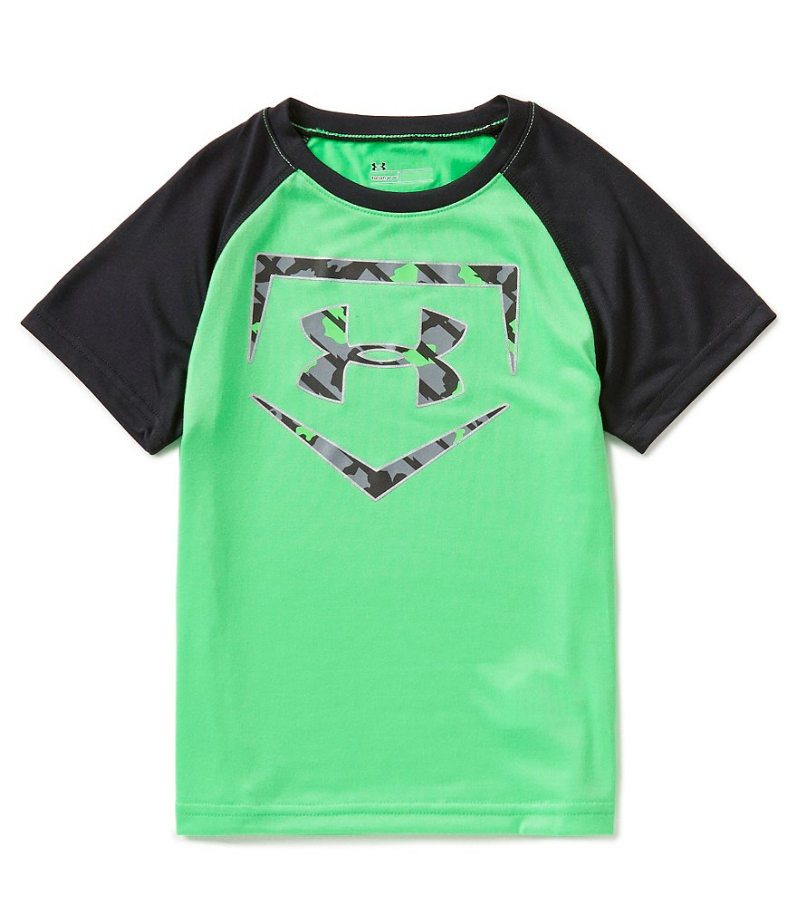 Under Armour Little Boys 4-7 Homerun Baseball Short-Sleeve Tee