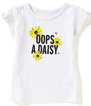 kate spade new york Little Girls 2-6 Oops-A-Daisy Tee