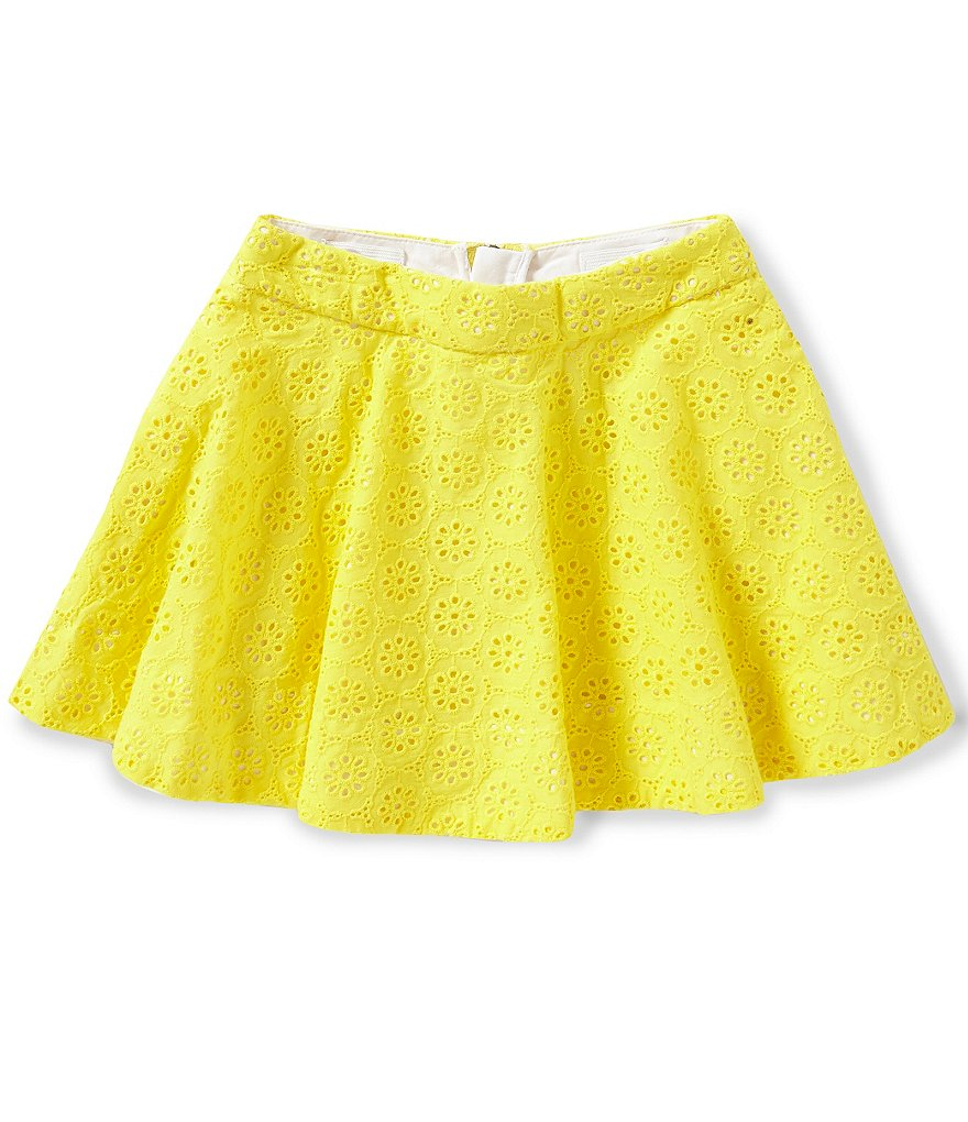 kate spade new york Little Girls 2-6 Coreen Eyelet Skirt