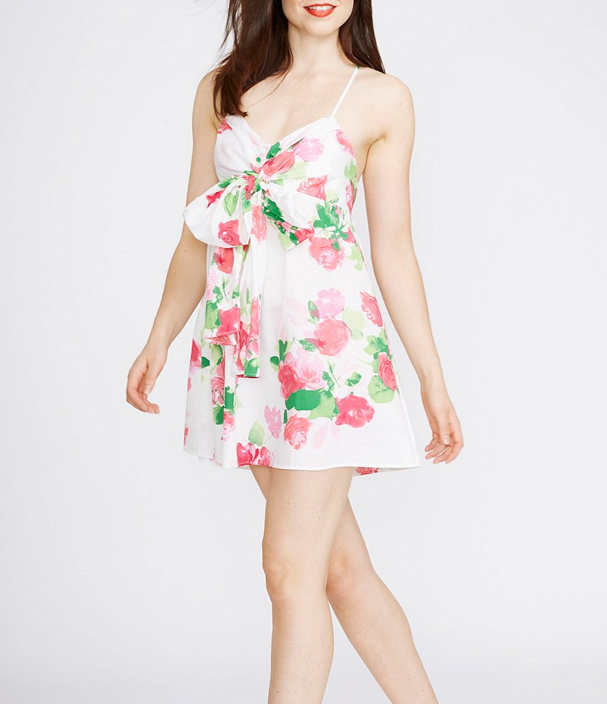 kate spade new york Floral Sateen Chemise