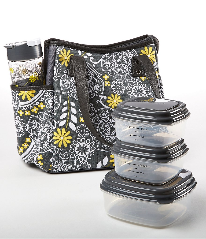 Fit & Fresh Westerly Fire Floral Insulated Lunch Kit