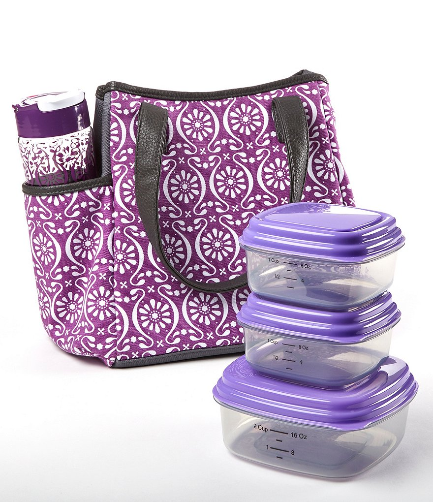Fit & Fresh Westerly Floret Tile Lunch Kit