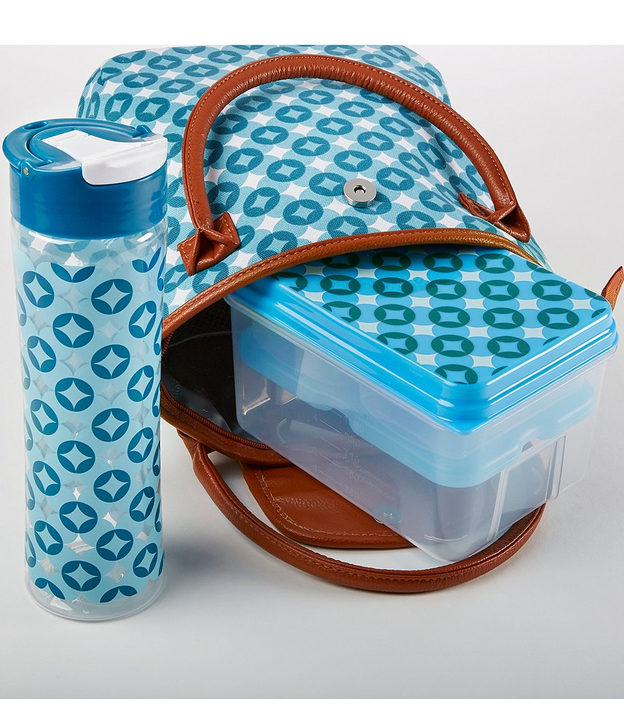 Fit & Fresh Avery Periwinkle Stars Lunch Kit