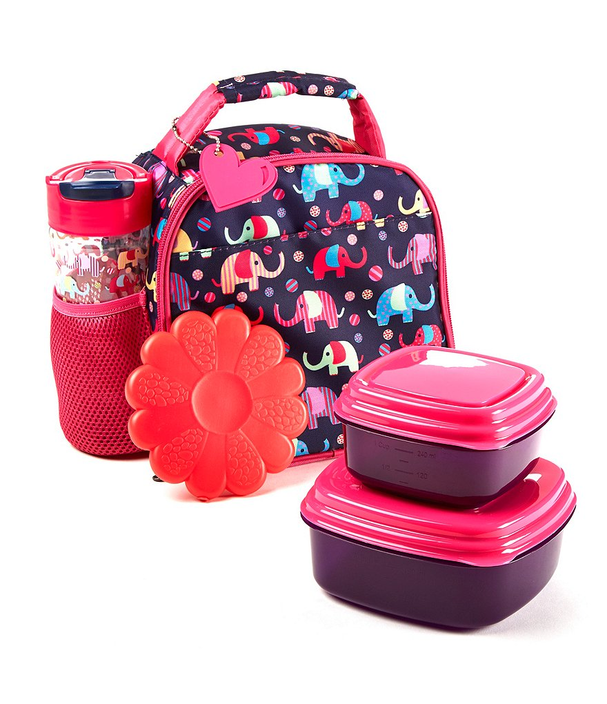 Fit & Fresh Lillie Elephant Circus Lunch Kit